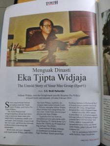 Wawancara Ekslusif Freddy Widjaja, Anak Taipan Eka Tjipta Widjaja