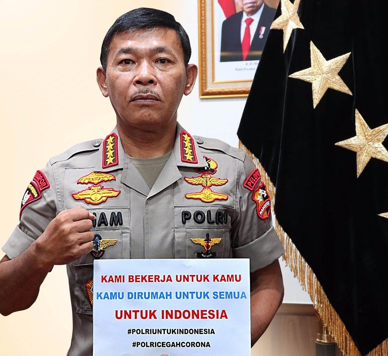 Kapolri Jenderal Idham Azis Meminta Maaf Ke Masyarakat
