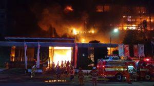 Jaksa Pinangki Dievakuasi Dari Kebakaran Gedung Kejaksaan RI