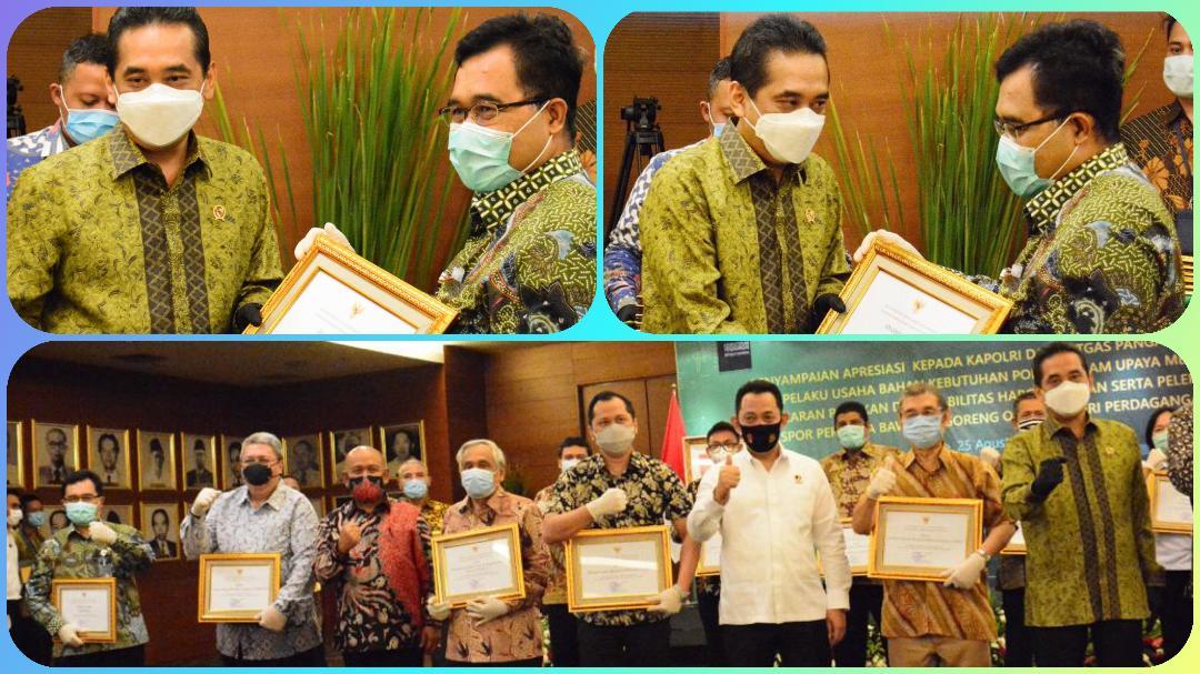 Bulog Raih Penghargaan Stabilisator Harga Pangan Selama Pandemi Covid-19