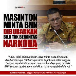 Deputi Pemberantasan BNN Tak Lagi Kosong