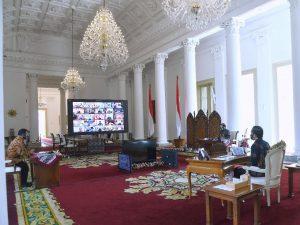 Jokowi: Gubernur Tetaplah Fokus Kendalikan Covid-19