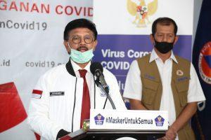Menteri Kominfo Bicara Penanganan COVID-19