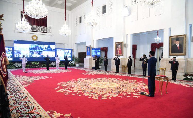 Jokowi Bicara Sinergi Antar Matra