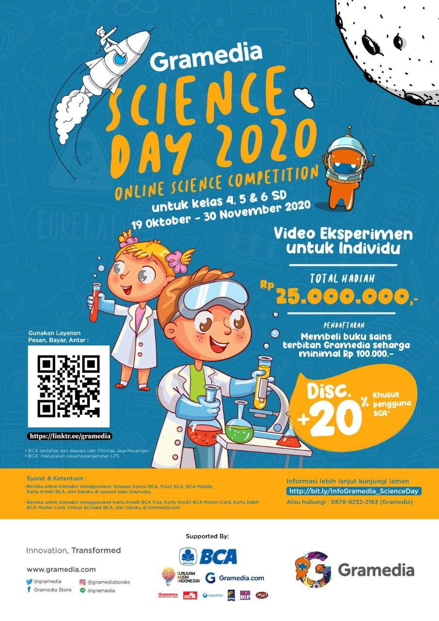 Gramedia Science Day Gaet Ilmuwan Muda
