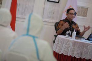 Gub DKI Baswedan Respon Cepat Permintaan Luhut Cegah Covid-19