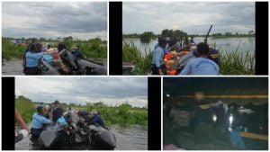 TNI AL Terjunkan 91 Personel & Peralatan SAR di Kalimantan Selatan