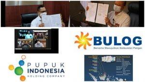 Pupuk Indonesia Gandeng BULOG Untuk Perkuat Program Agro-Solution