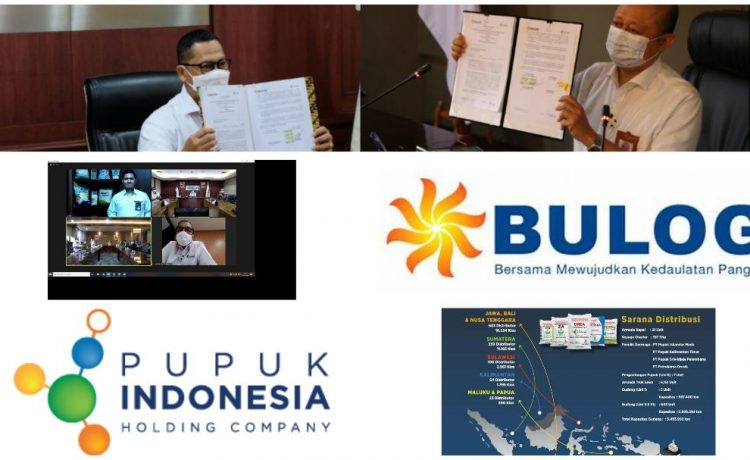 Pupuk Indonesia Gandeng BULOG Untuk Perkuat Program Agro-Solution