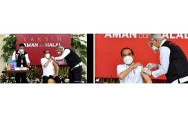 Vaksinator Penyuntik Jokowi Sempat Gemetar