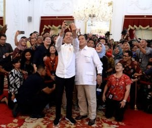 Top of Mind Presiden Indonesia: Prabowo