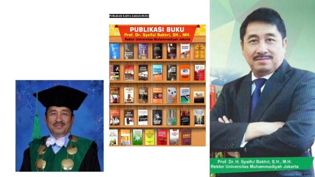 Wawancara Prof. Dr. Syaiful Bakhri, SH., MH (Guru Besar Universitas Muhammadiyah Jakarta)