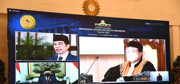 MA Di Bawah Prof Syarifuddin Dipuji Jokowi