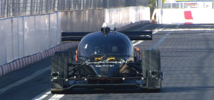 'Roborace' car makes street track debut in Marrakech