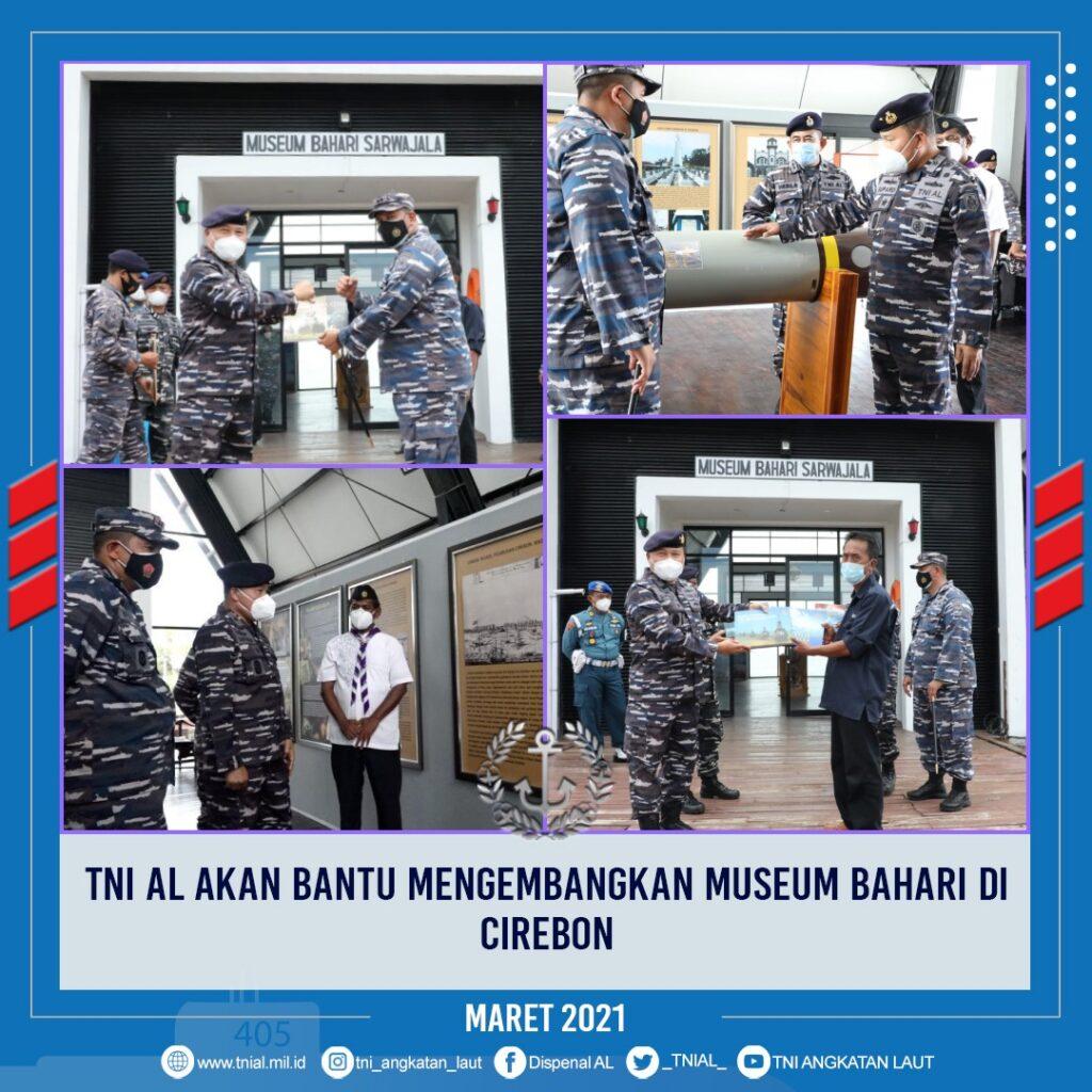 TNI AL akan Bantu mengembangkan Museum Bahari di Cirebon
