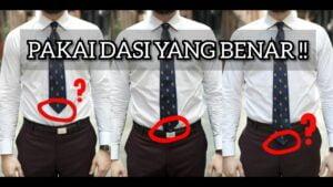 Makin Aksi Dengan Dasi