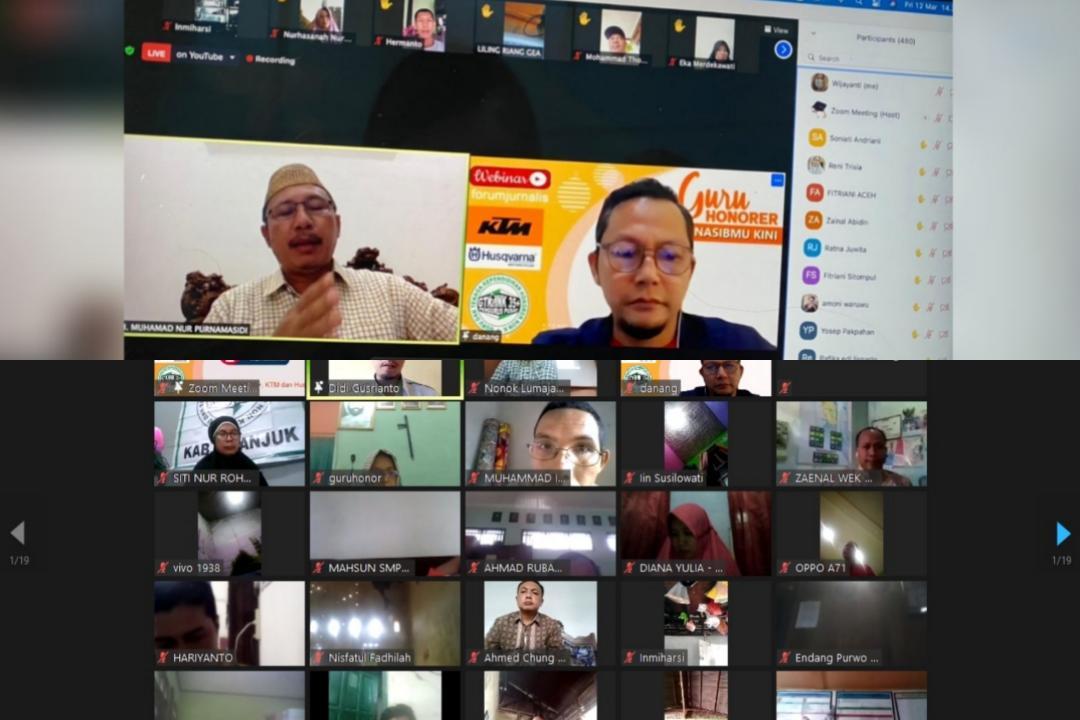 Webinar Nasional: Guru Honorer Nasibmu Kini
