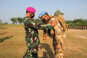 Upacara Penutupan Satgas TNI Kontingen Garuda UNIFIL