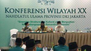 Dalam dua kali putaran masing-masing calon sama-sama mendapatkan tiga suara dalam Konferil NU DKI Jakarta.