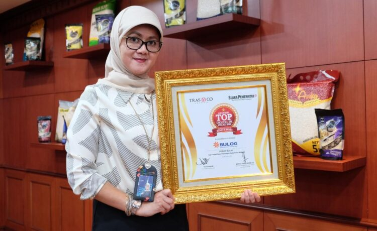 BULOG Raih Indonesia Digital PR Award 2021