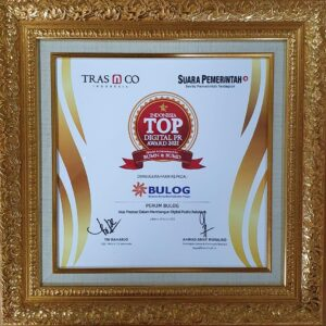BULOG Raih Indonesia Digital PR Award 2021