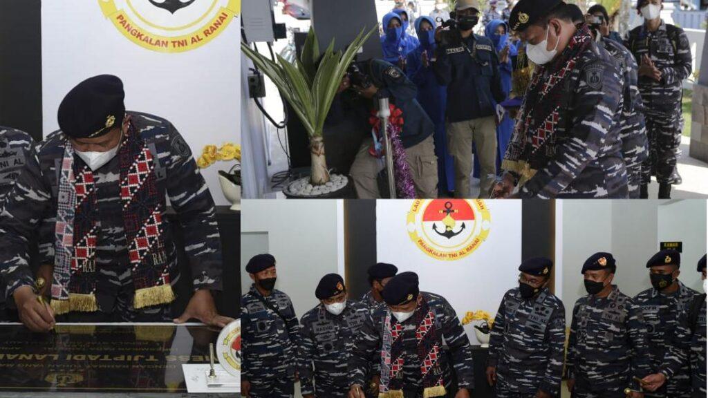 Kasal: Peningkatan Sarpras Pendukung Tugas Operasi