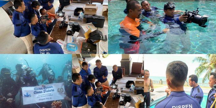 TNI AL Laksanakan Pelatihan Underwater Camera