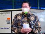 Airlangga Tegaskan Vaksin Percepat Herd Immunity Di Masyarakat