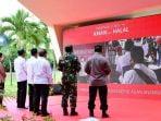 Presiden Jokowi Tinjau Vaksinasi di Bintan