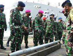 TNI AL Tunda Latihan Armada Jaya, Fokus Bantu Pemerintah Perangi Covid-19