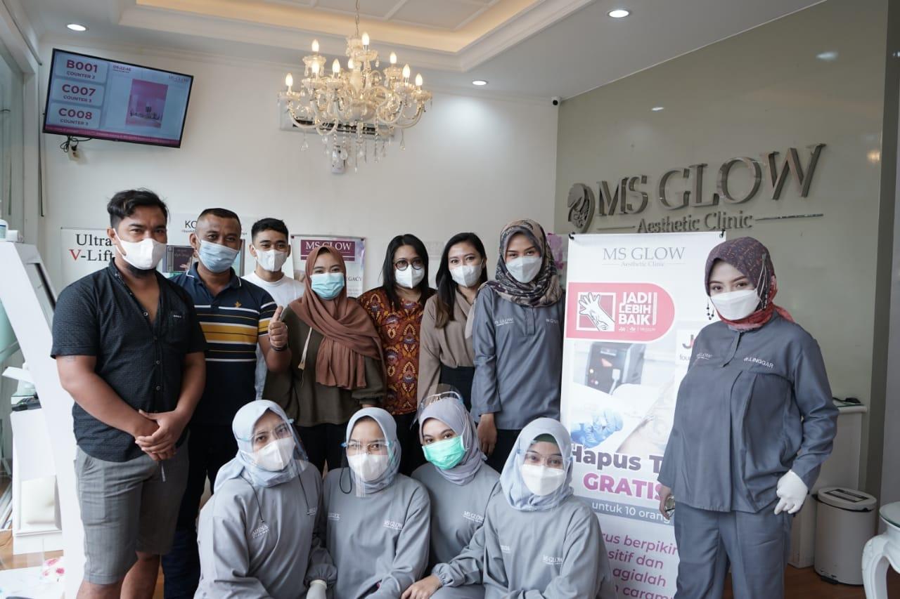 Klinik MS Glow Support Muslim untuk Hijrah dengan Penghapusan Tato Gratis