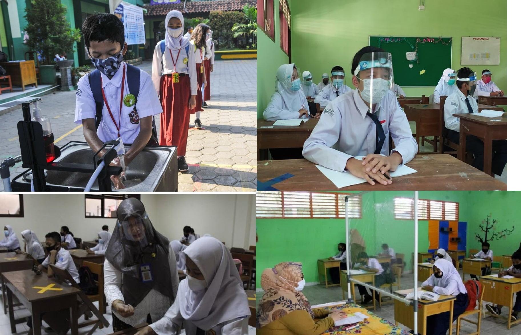 Kesehatan, Keselamatan dan Keamanan Siswa Adalah Prioritas Sekolah Tatap Muka