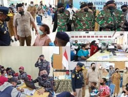 Mendagri Prof Muhammad Tito Karnavian Apresiasi Gebyar Vaksin IPDN dan TNI AL di Papua