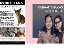 Putri Proklamator Mohammad Hatta Kehilangan Kucing, Trending di Portalnya Anak Muda